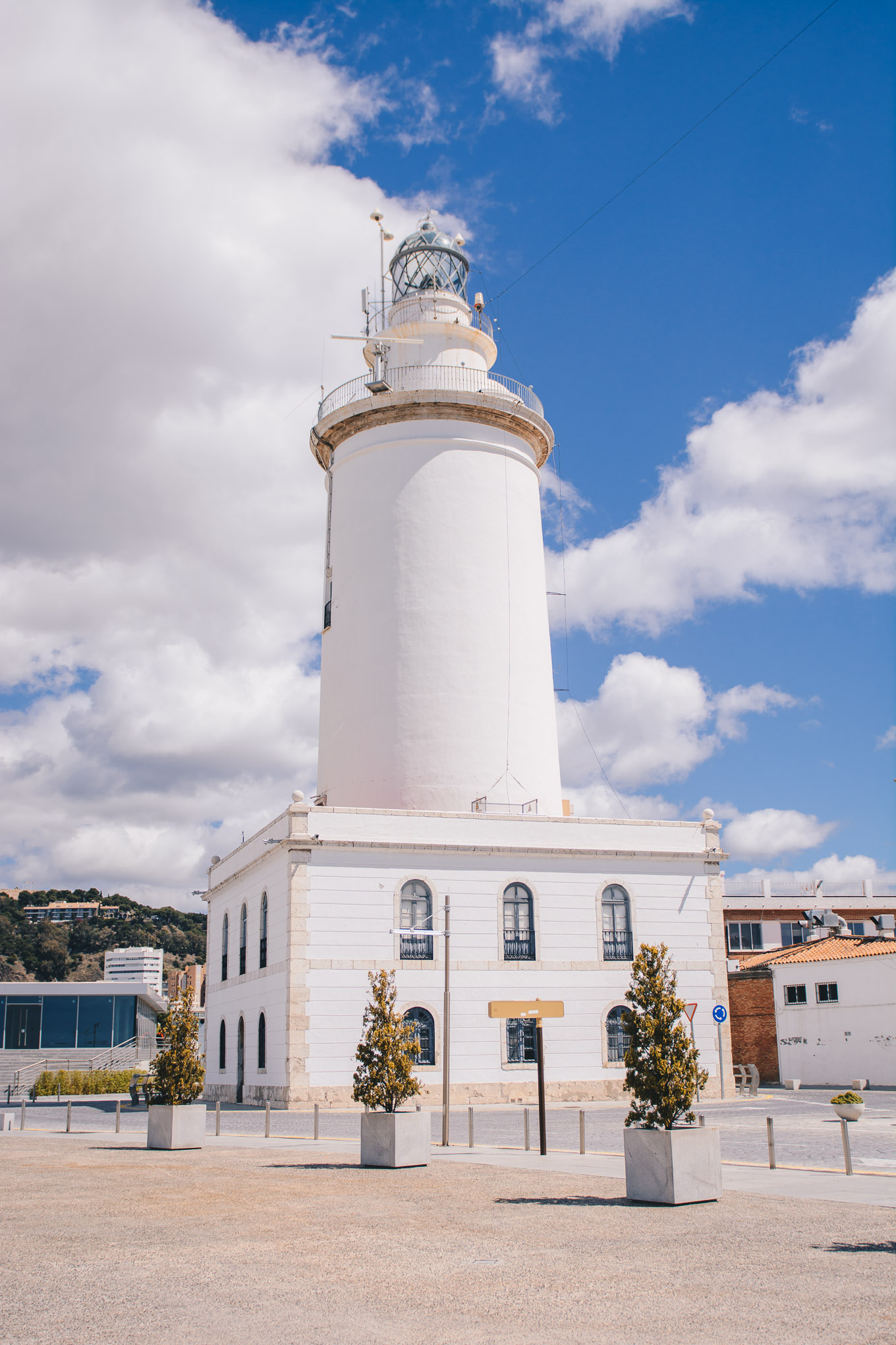 Malaga lighthouse
