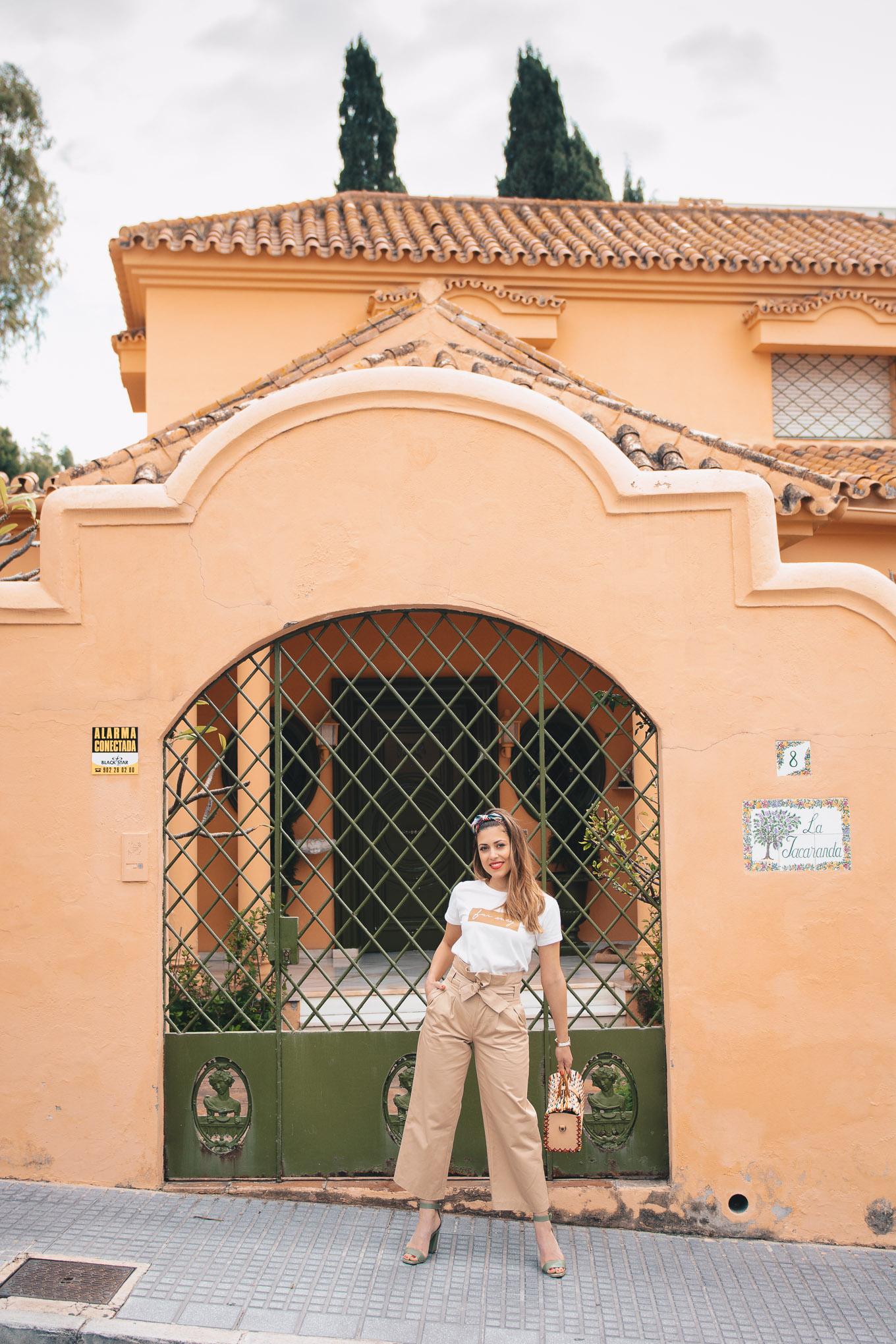 Malaga style blogger