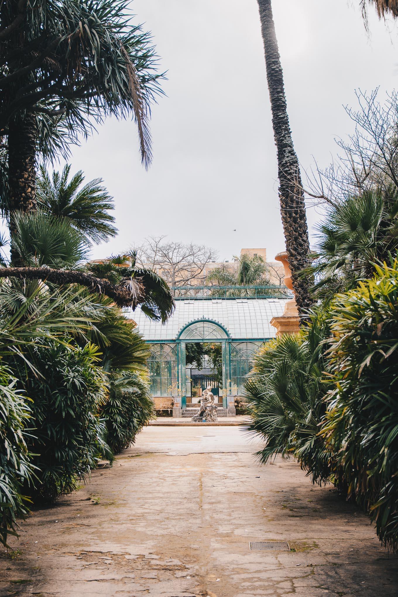 Orto botanico palermo sicily