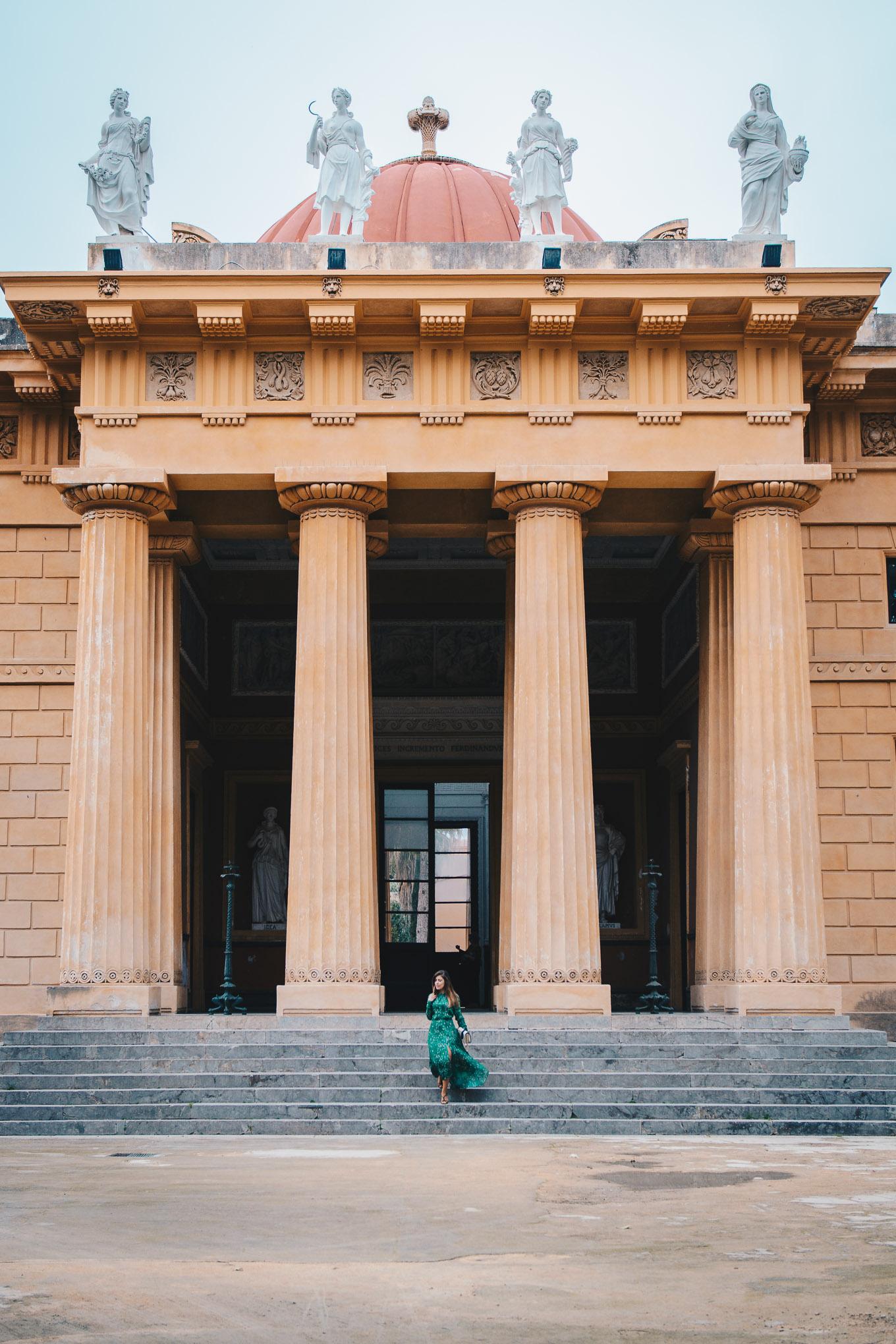 Orto botanico temple