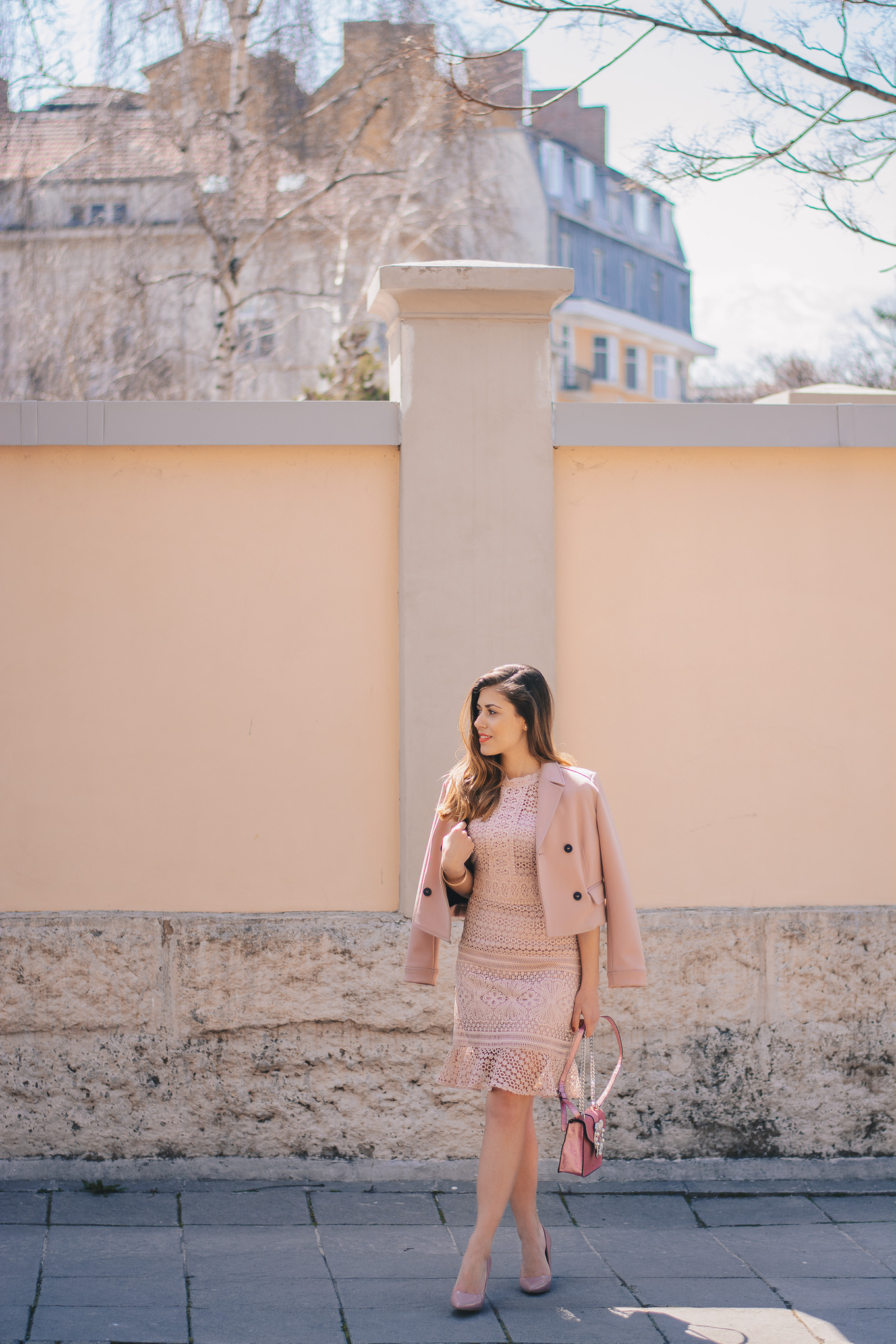 Pink dress shoes humanic