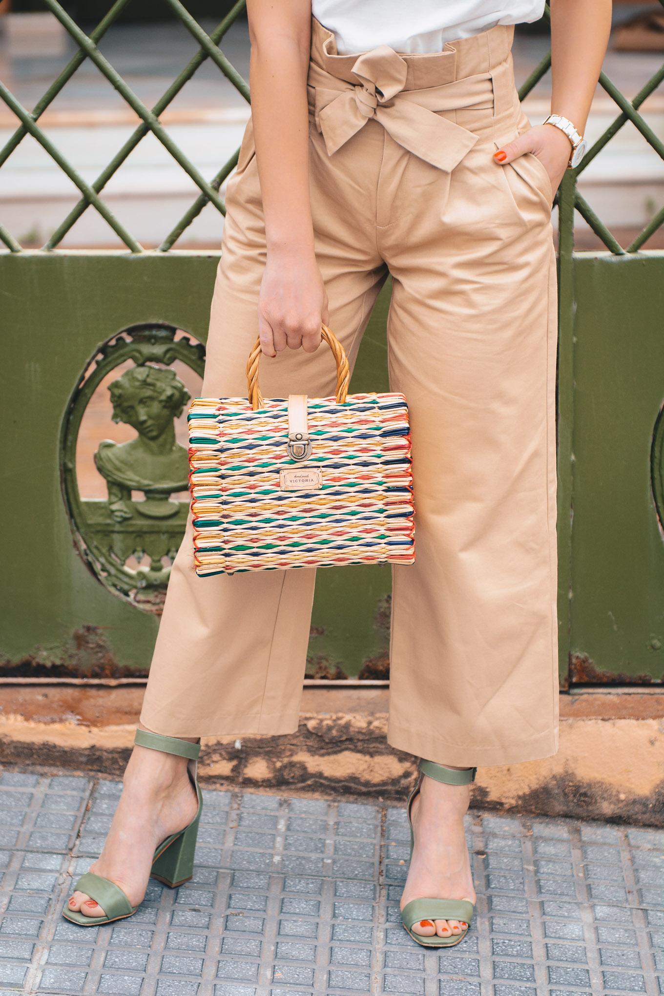 Victoria handmade bag
