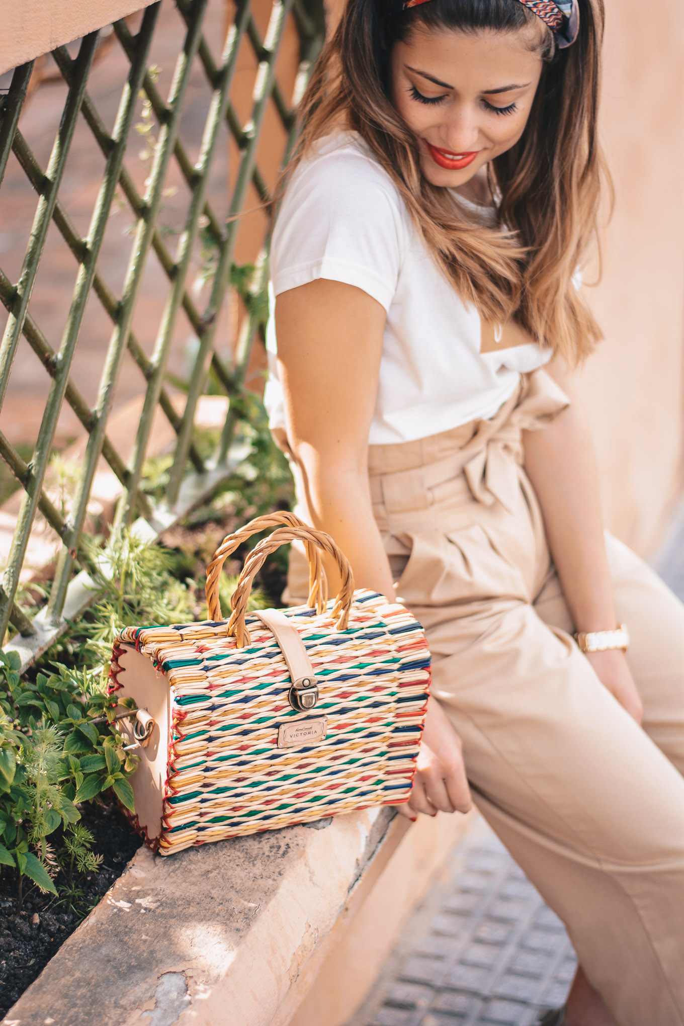 Victoria handmade basket