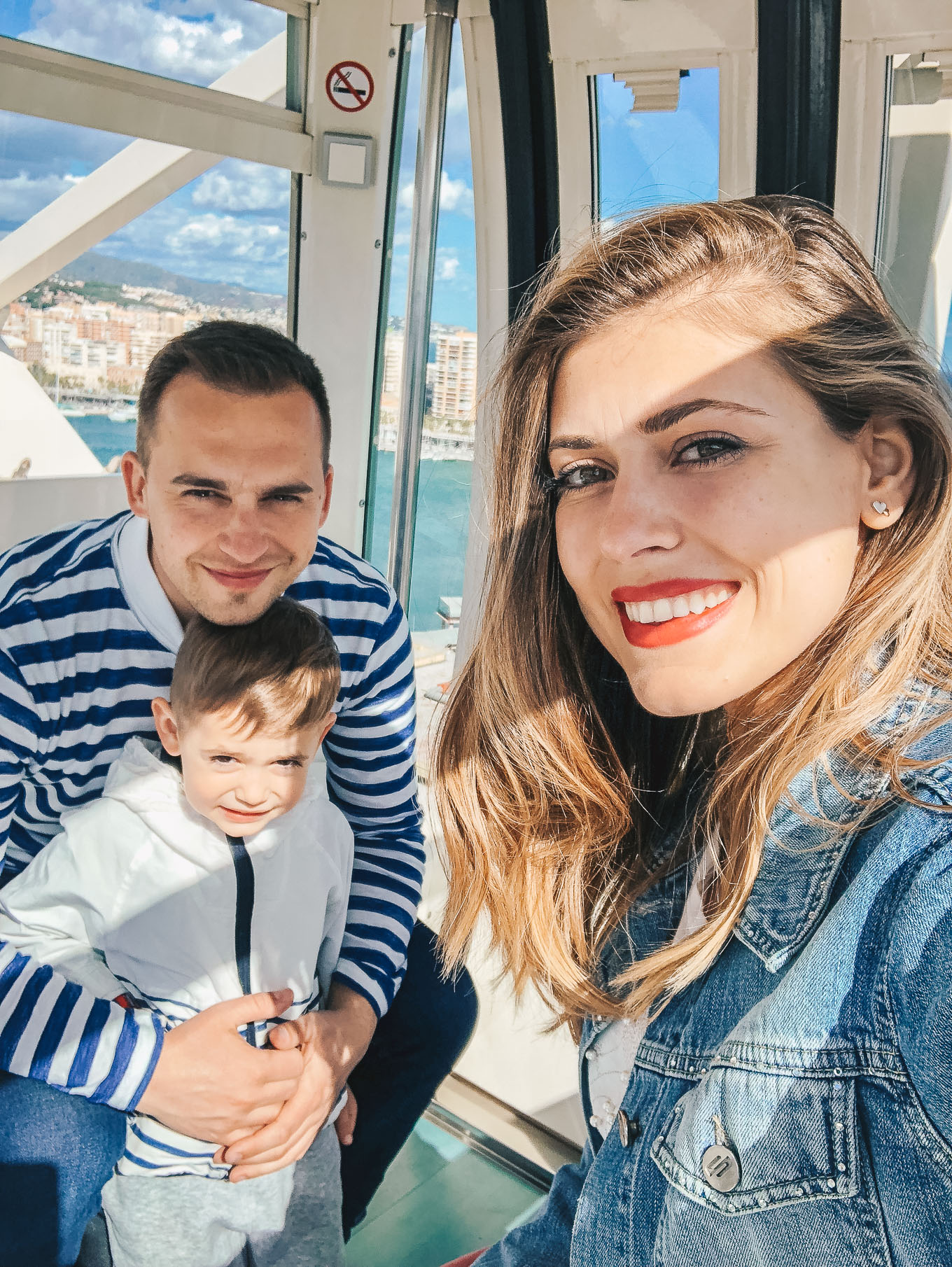family in Malaga