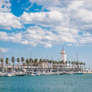 port of Malaga 2018 Malaga in Spring