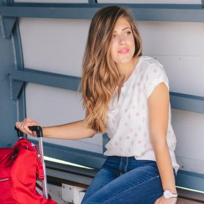 essentials for comfortable travel - Bulgarian influencer and blogger
