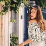 Denina Martin fashion beauty influencer - Земни тонове