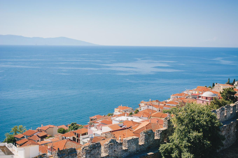 Kavala sea view