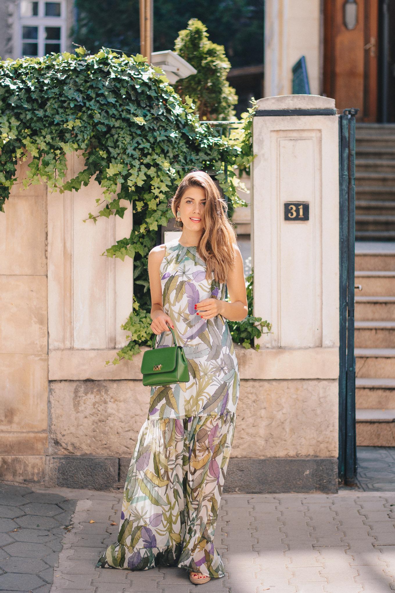 Liu Jo long floral dress