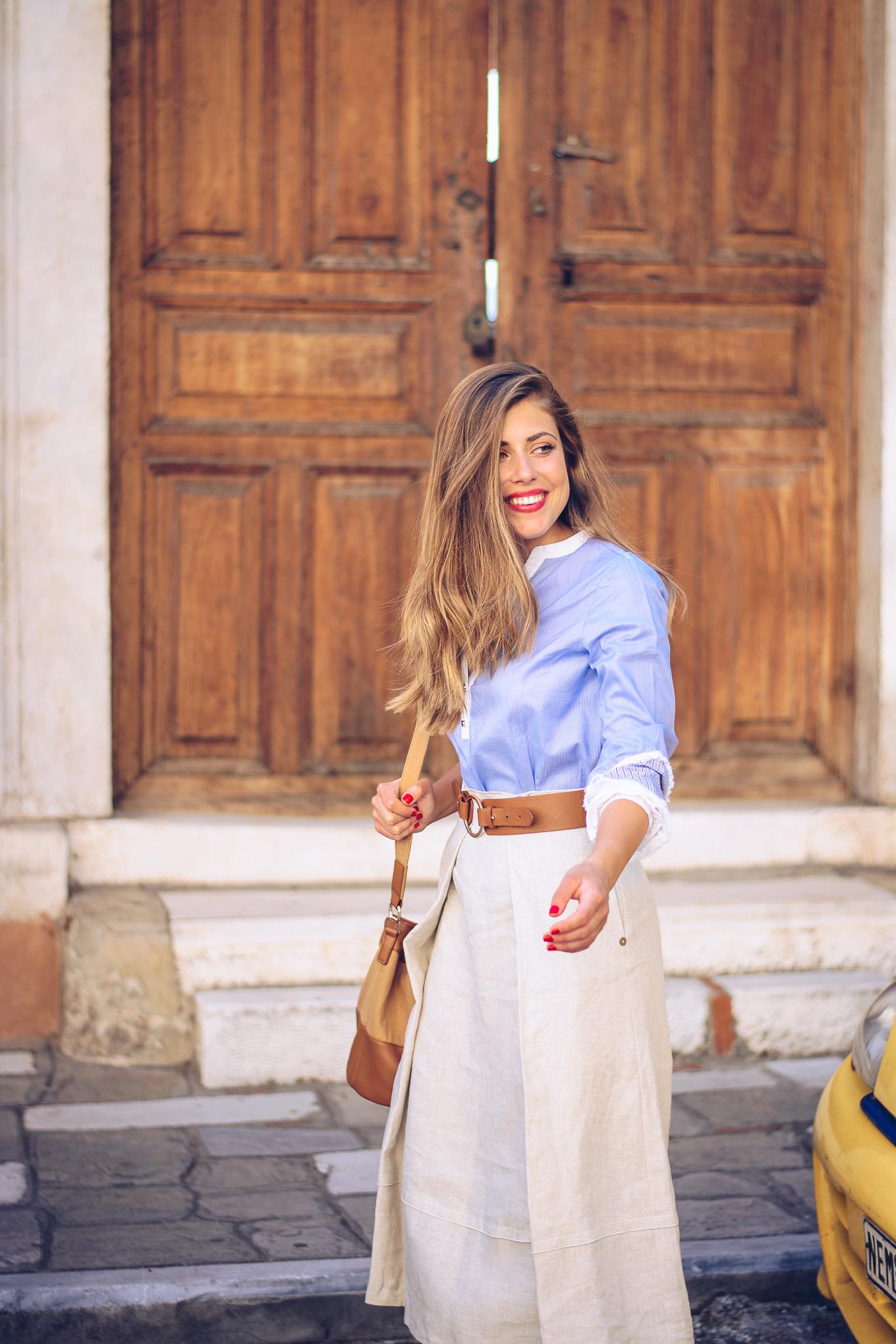 Pennyblack pure linen skirt