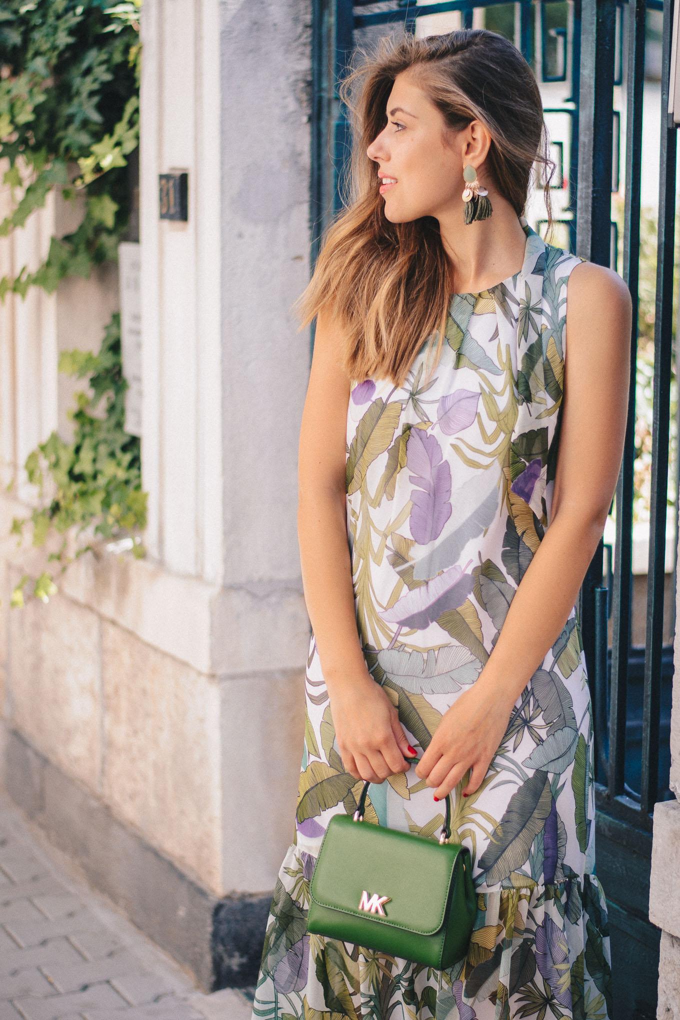Summer floral dress Liu Jo