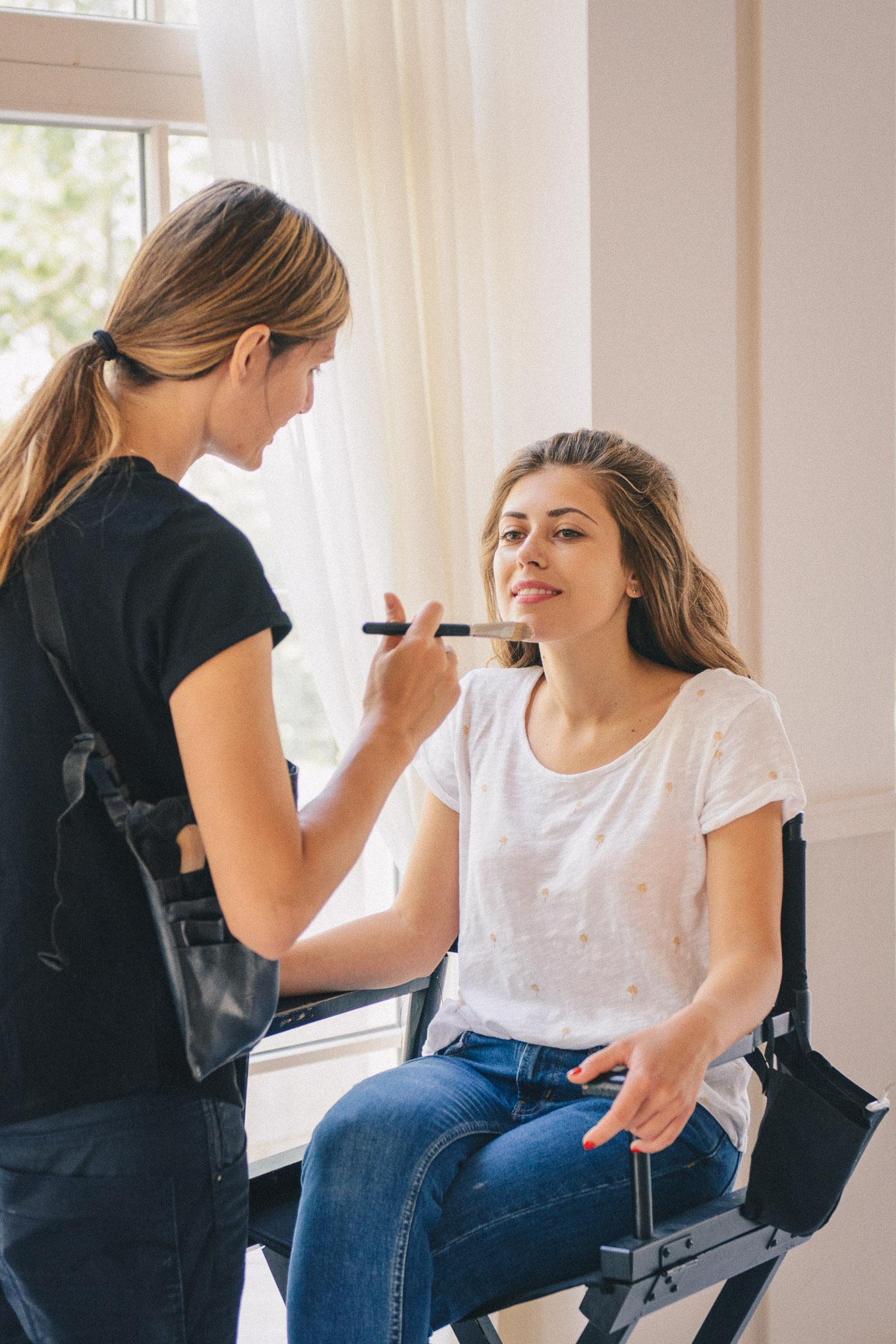 The Make up artist