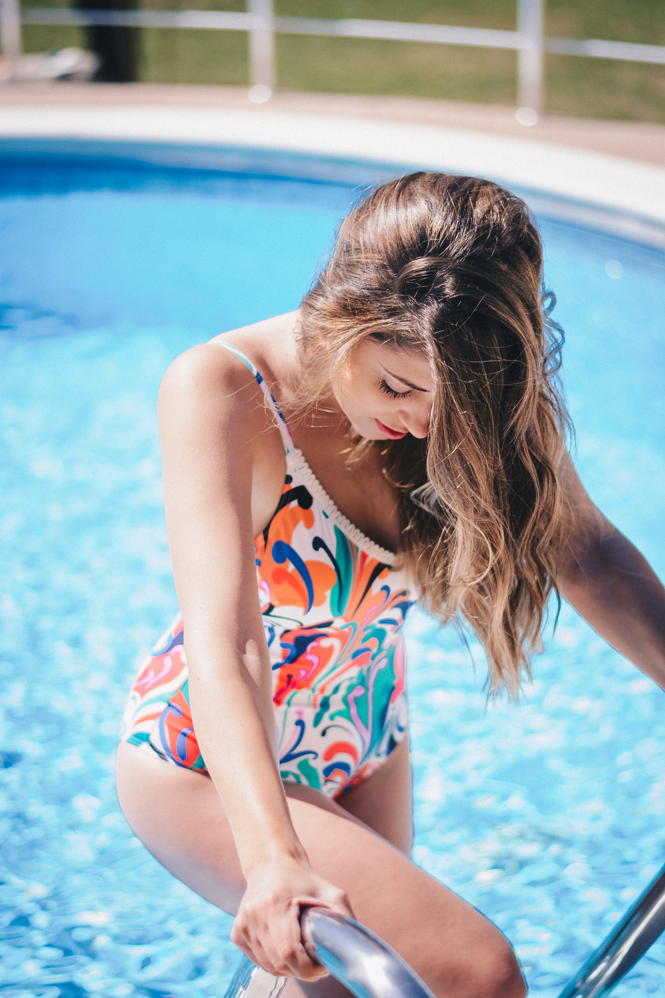 Together we Triumph 70s swimsuit