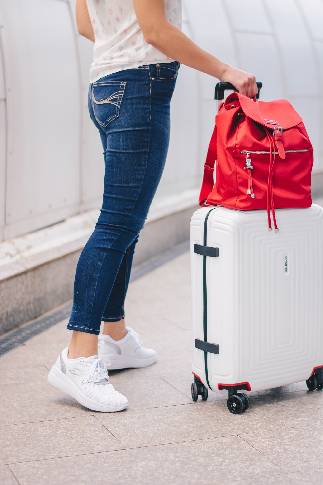 travel in style with Samsonite luggage