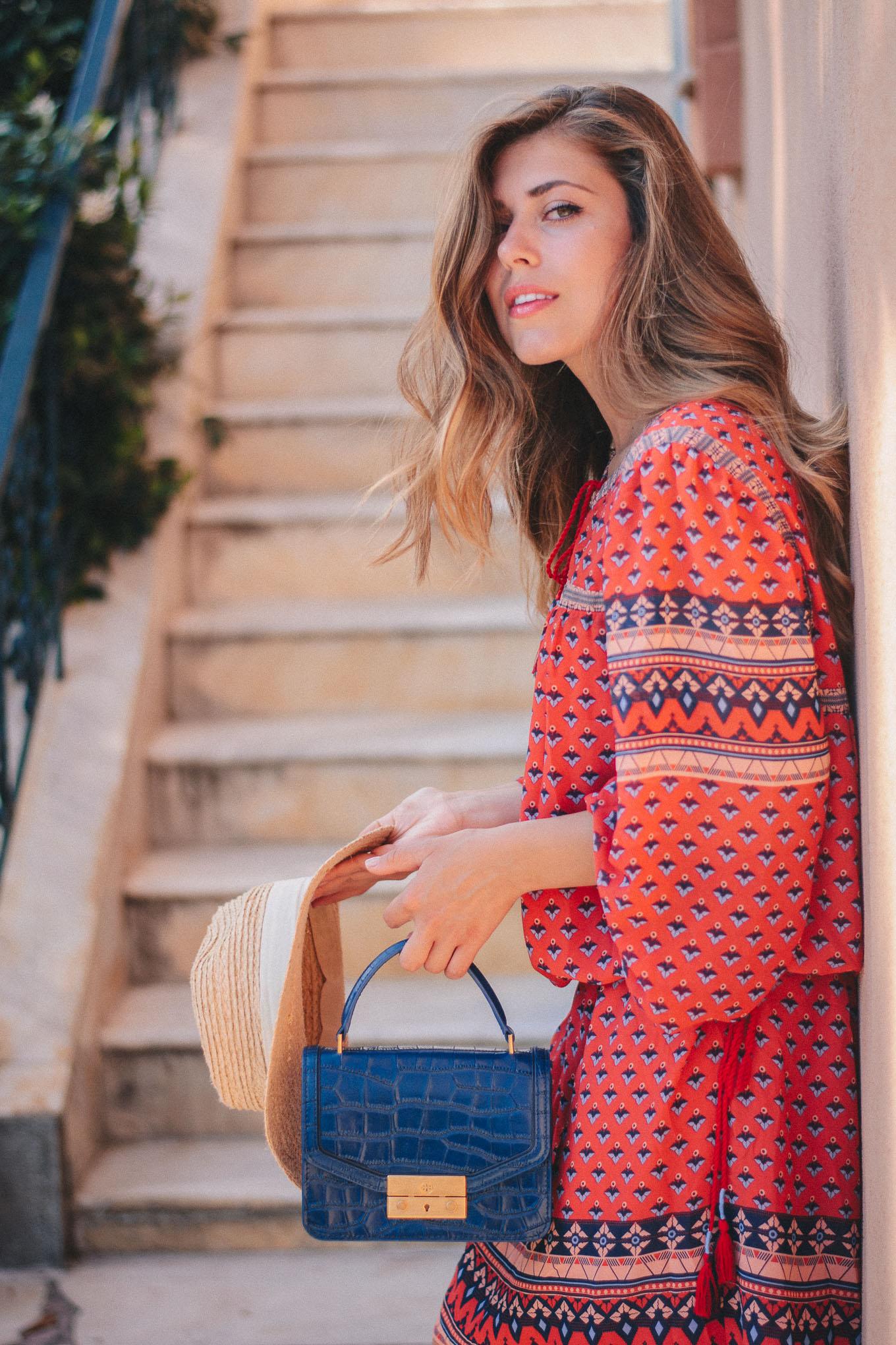 Bulgarian boho style blogger