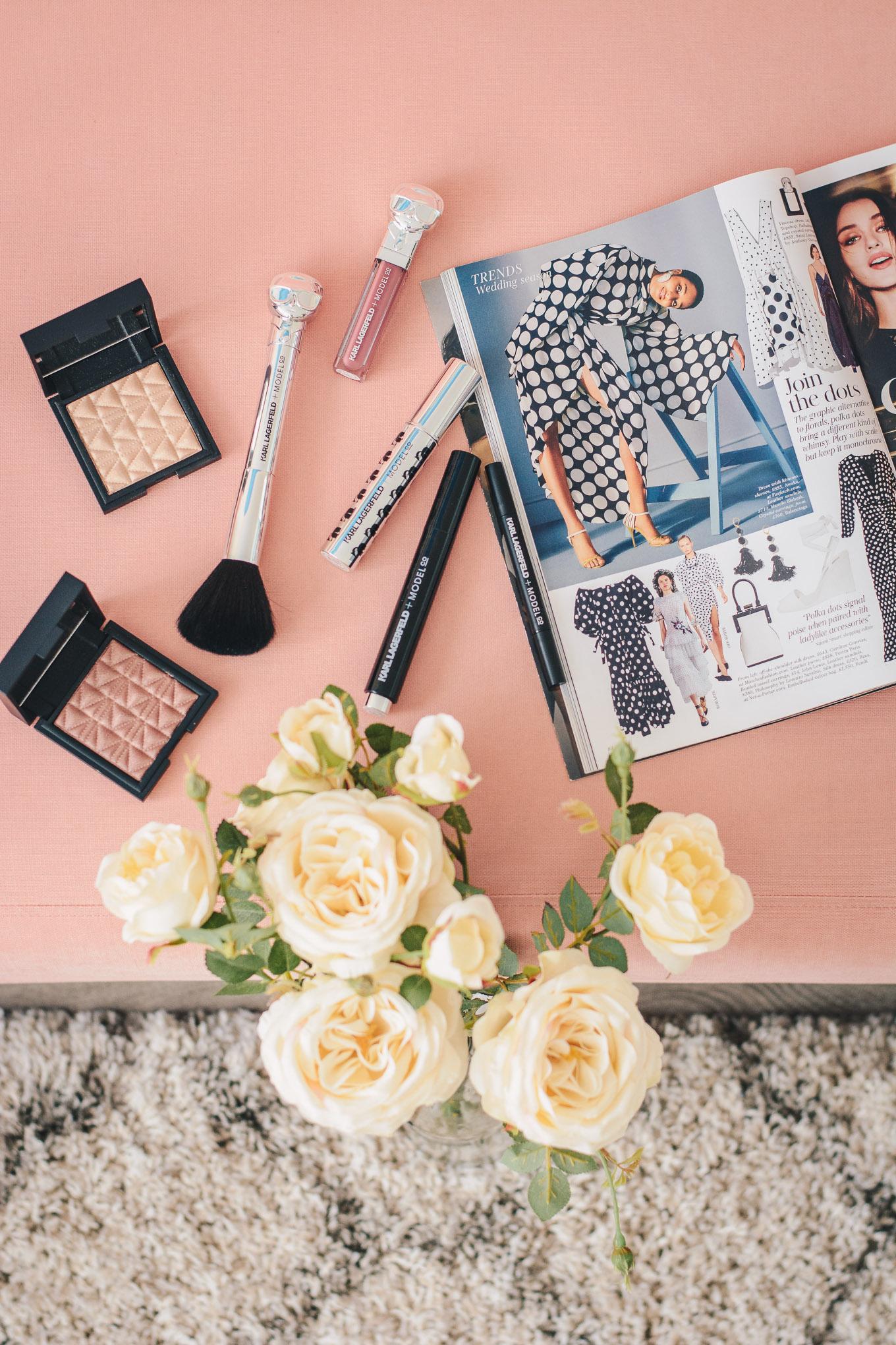 Karl Lagerfeld beauty model co