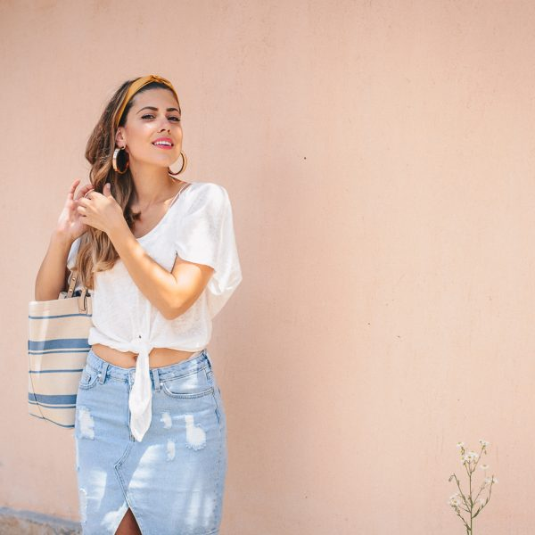 ДЪНКОВАТА ПОЛА, КОЯТО ДА НОСИТЕ ТОВА ЛЯТО - The one type of denim skirt to wear this Summer