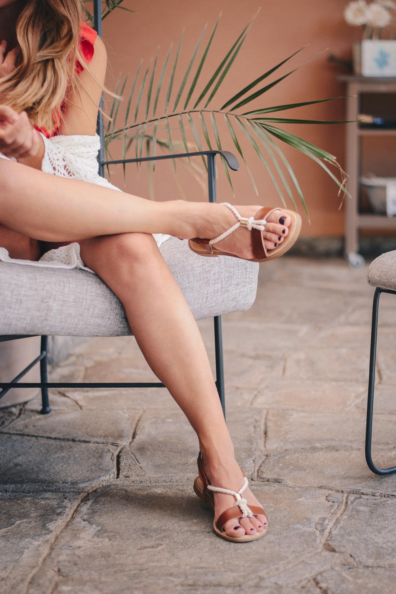 Penny black summer sandals