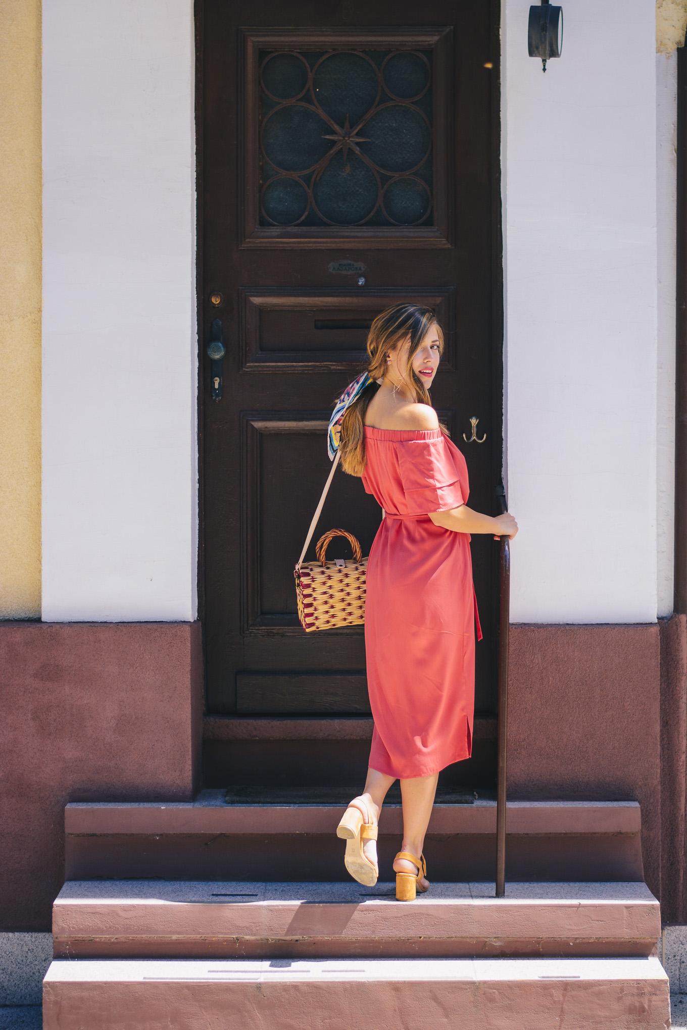 Tom Tailor red dress