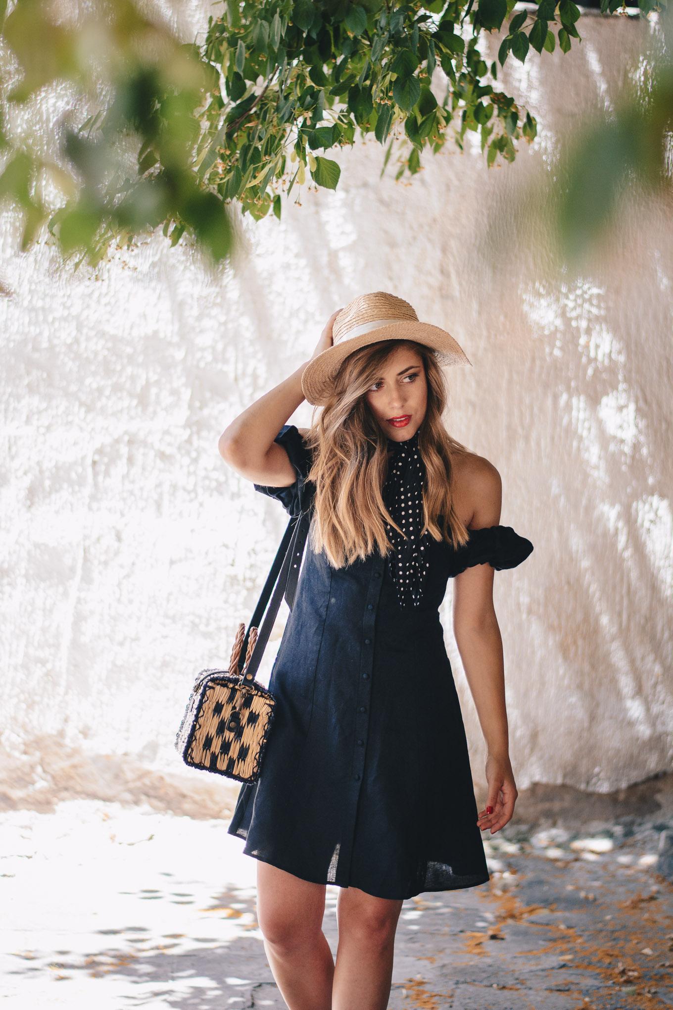 Wearing Zara dress