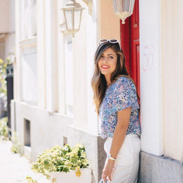 Denina Martin floral shirt