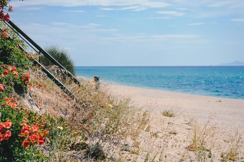 Greece virgin beach
