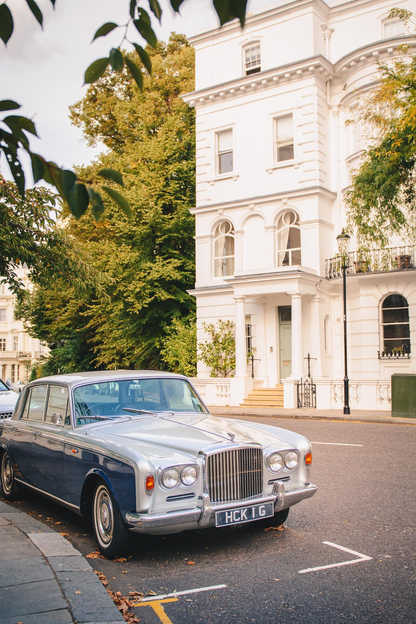 Bentley in Notting Hill