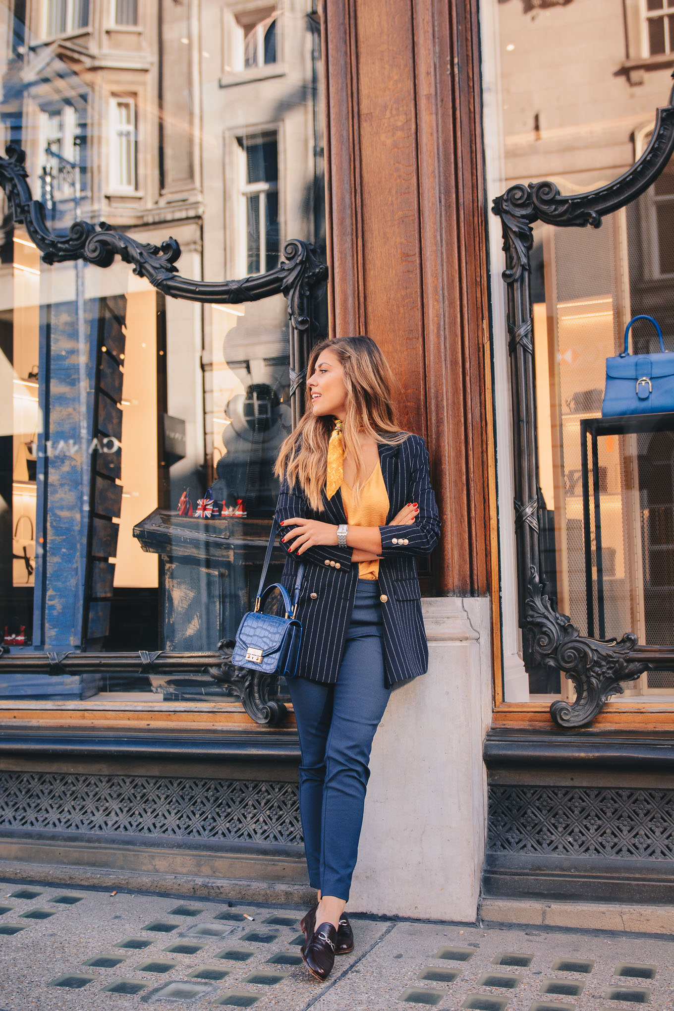 London fashion week blogger