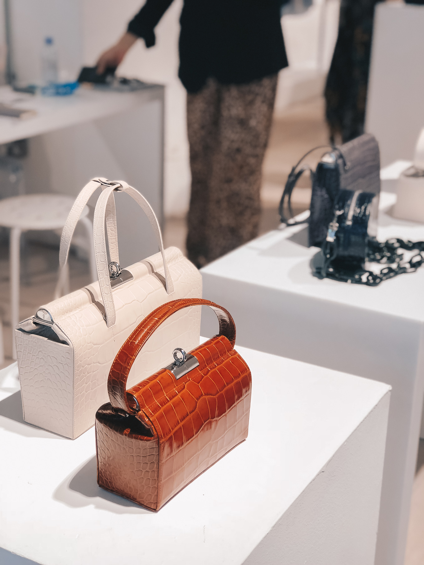 London fashion week show handbags