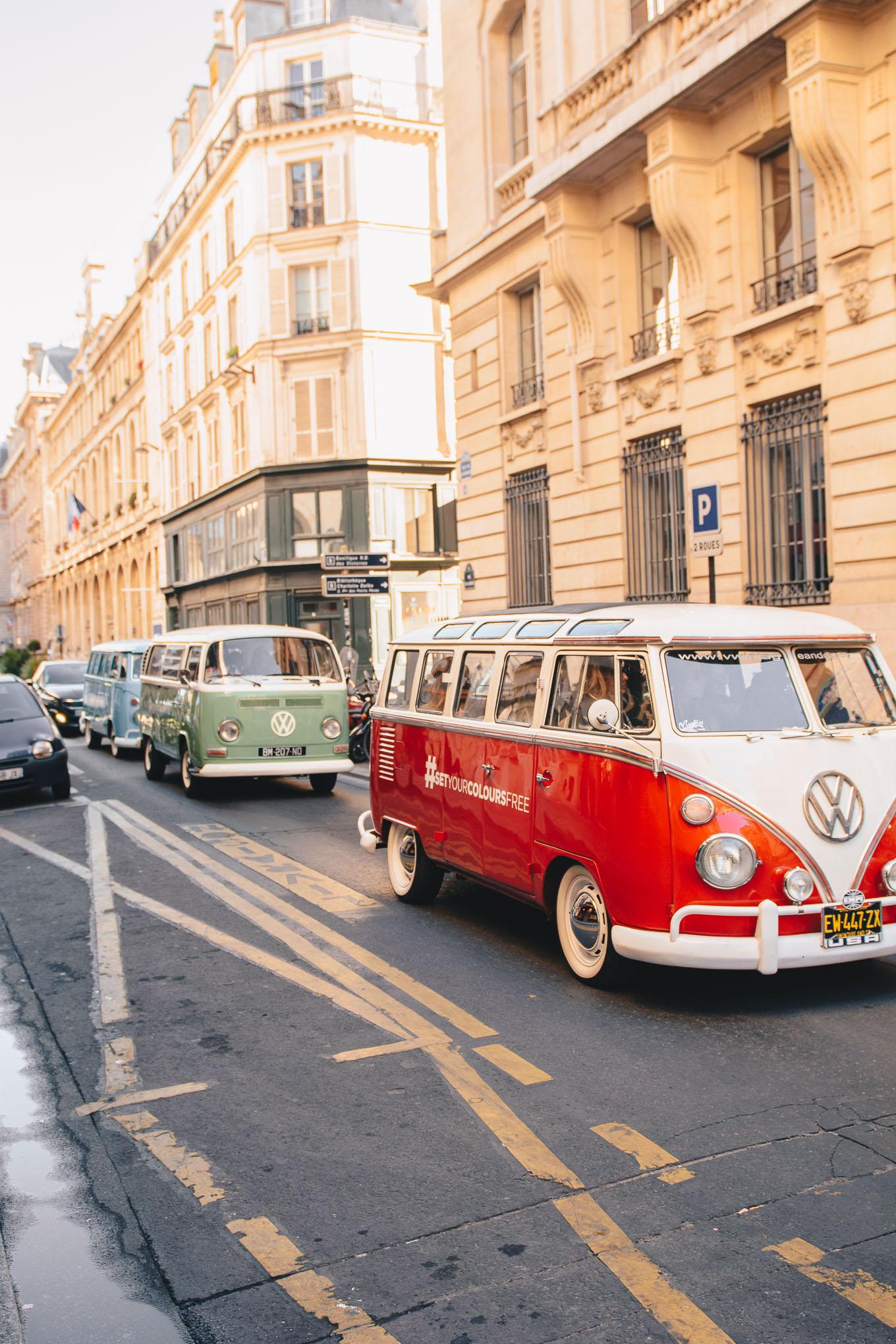 Avon VW retro colorful ride