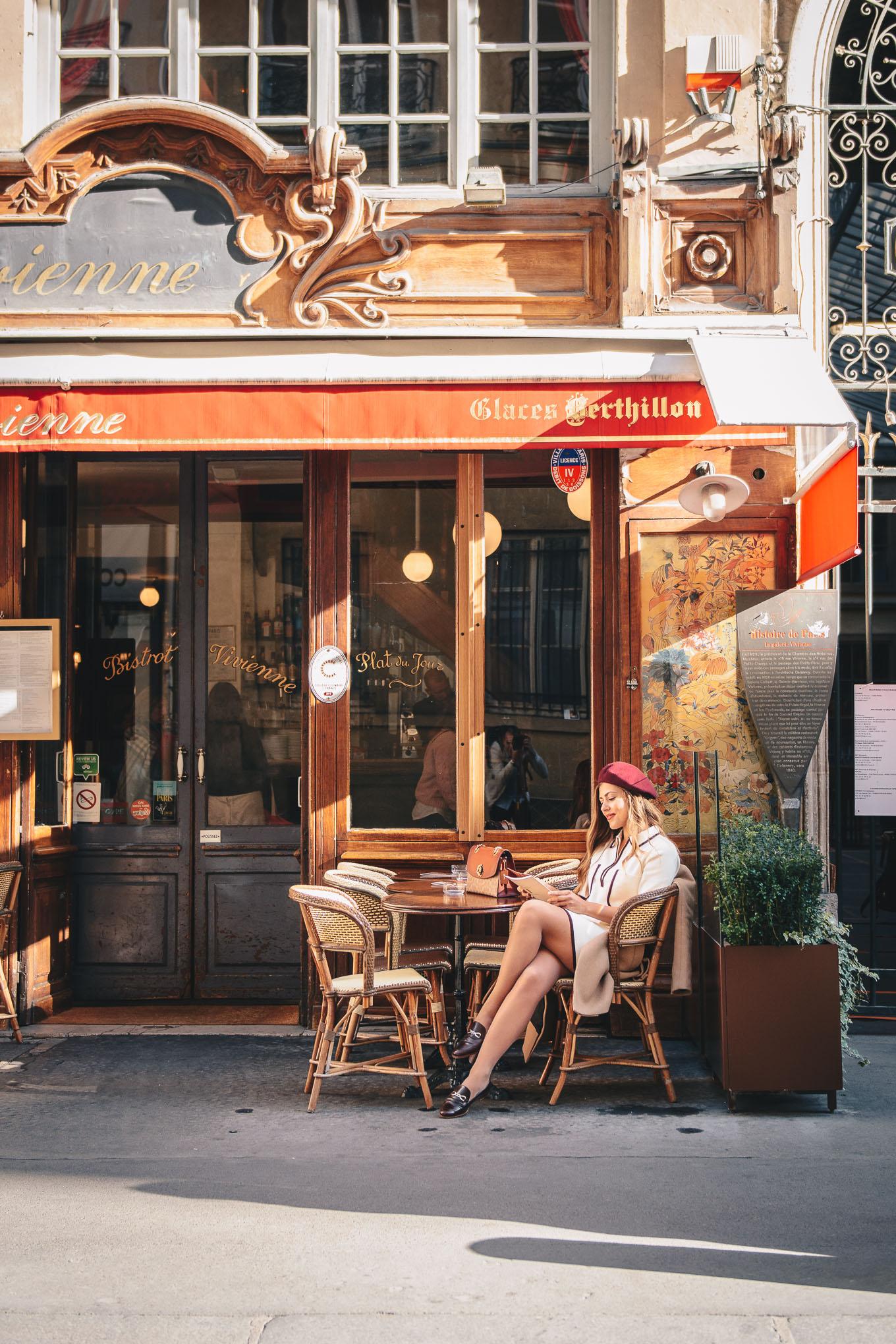 Cafe Vivienne Paris Kenzo Takada