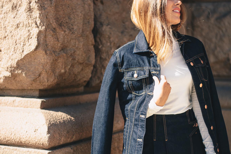 Denim jacket westeren style