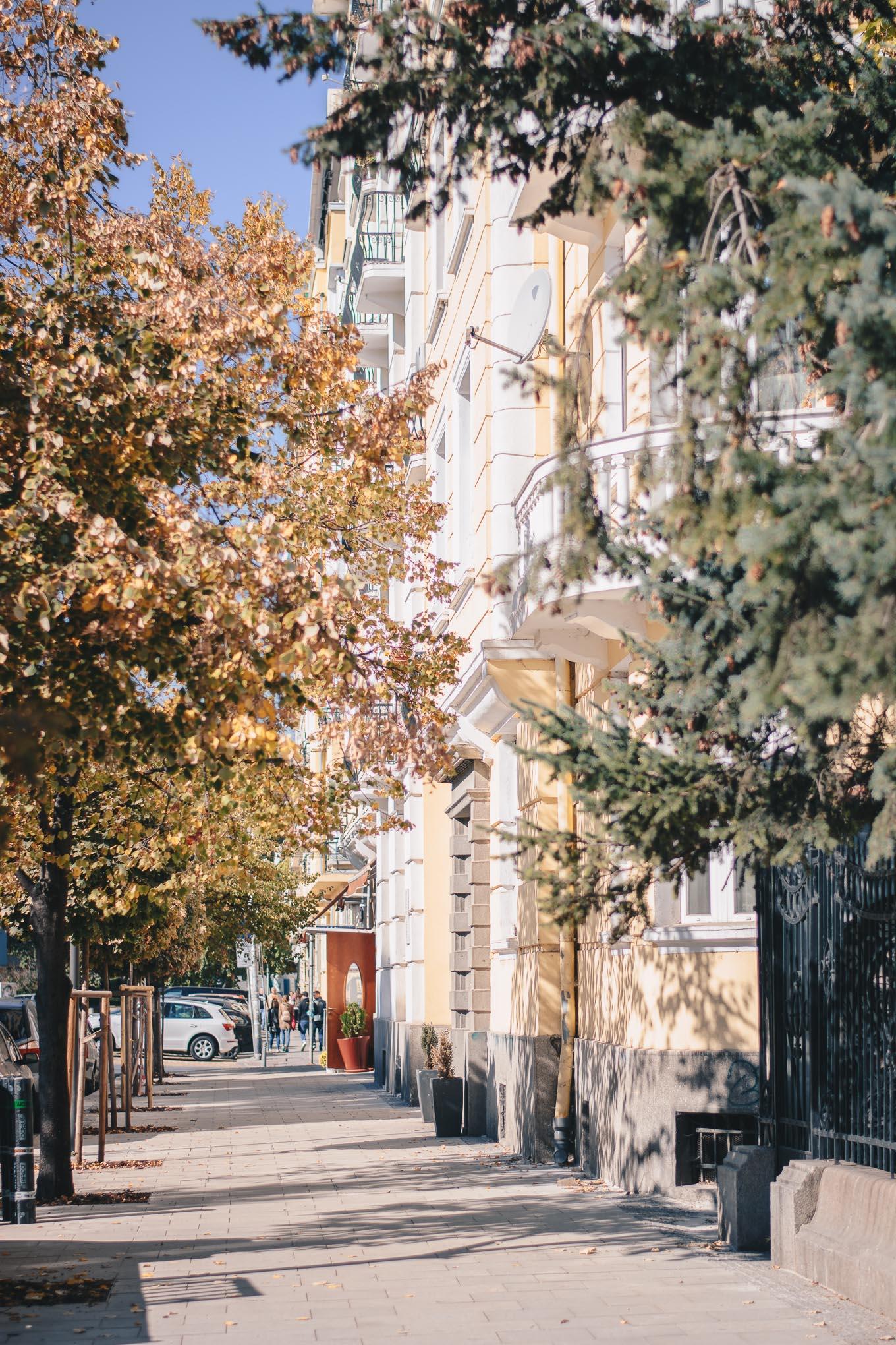 Fall in Sofia
