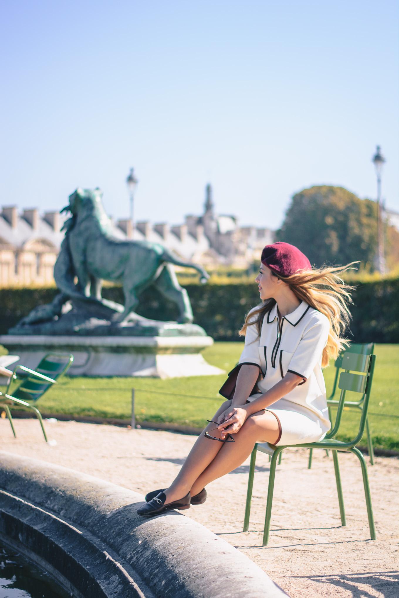 Jardin de Tuleries Paris