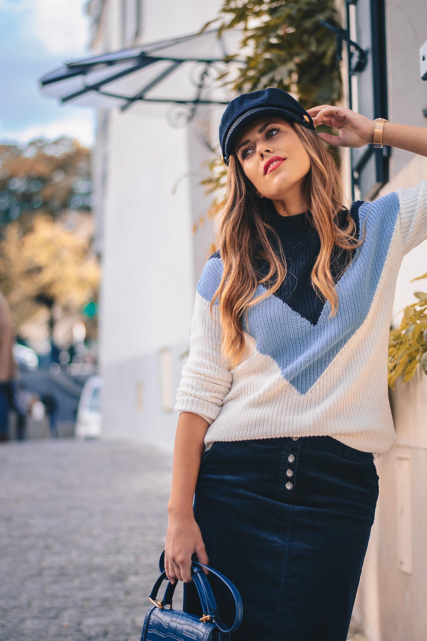 Paris fashion blogger Denina Martin
