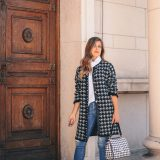 Styling the trend houndstooth print
