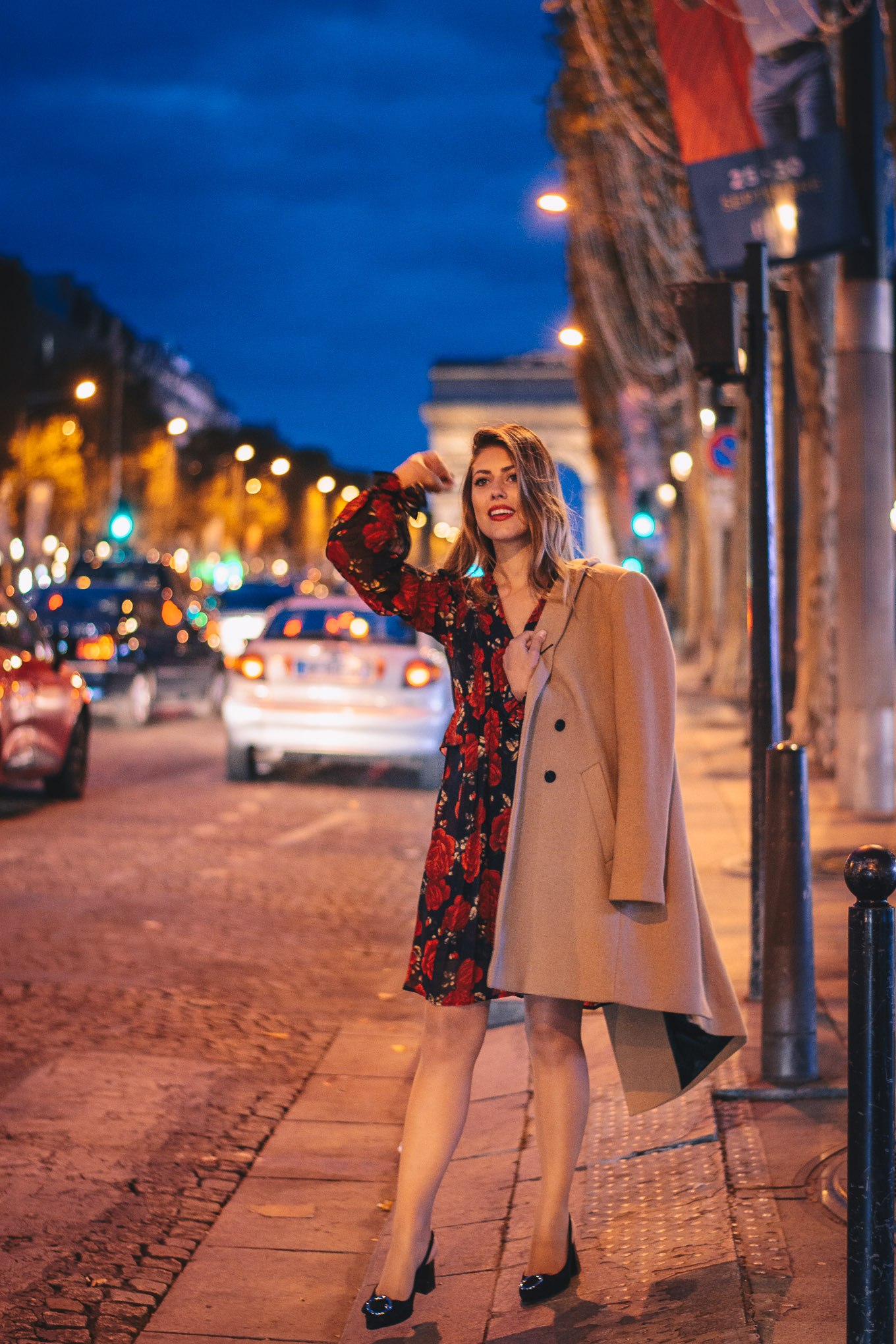 The Kooples Paris style blogger