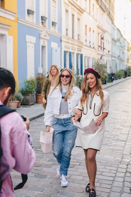 Walking down rue Cremieux
