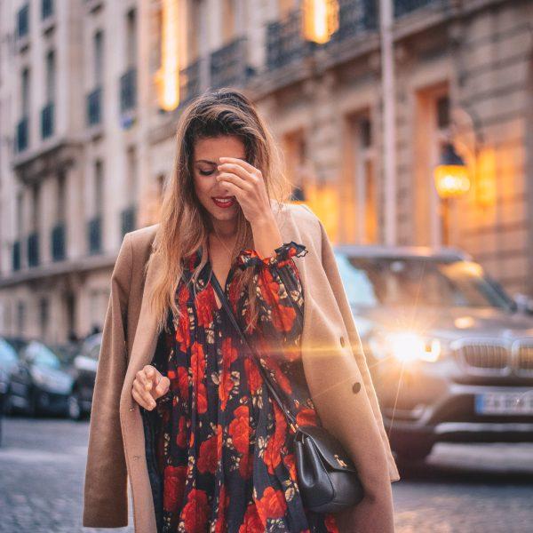 КАКВО ОБЛЯКОХ ЗА ВЕЧЕРЯ В ПАРИЖ - What i wore for dinner in Paris the kooples