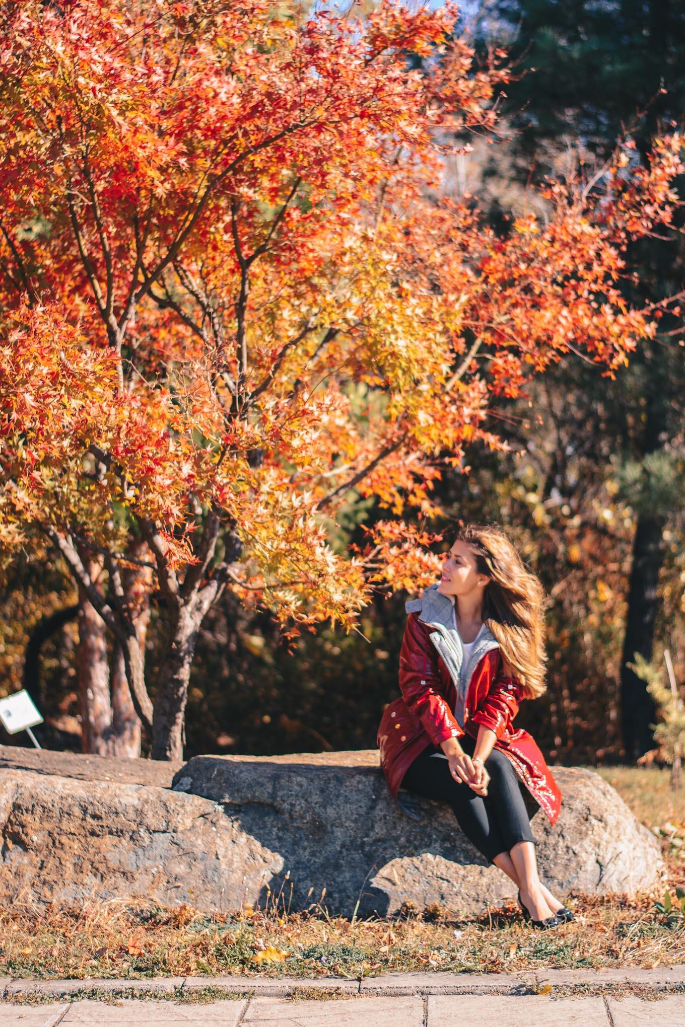 autumn parka