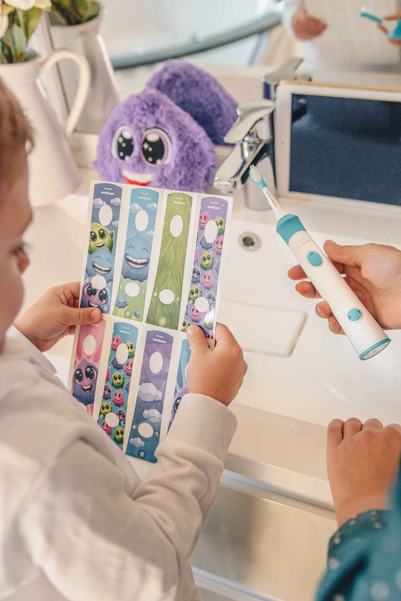 Sonicare for kids stickers