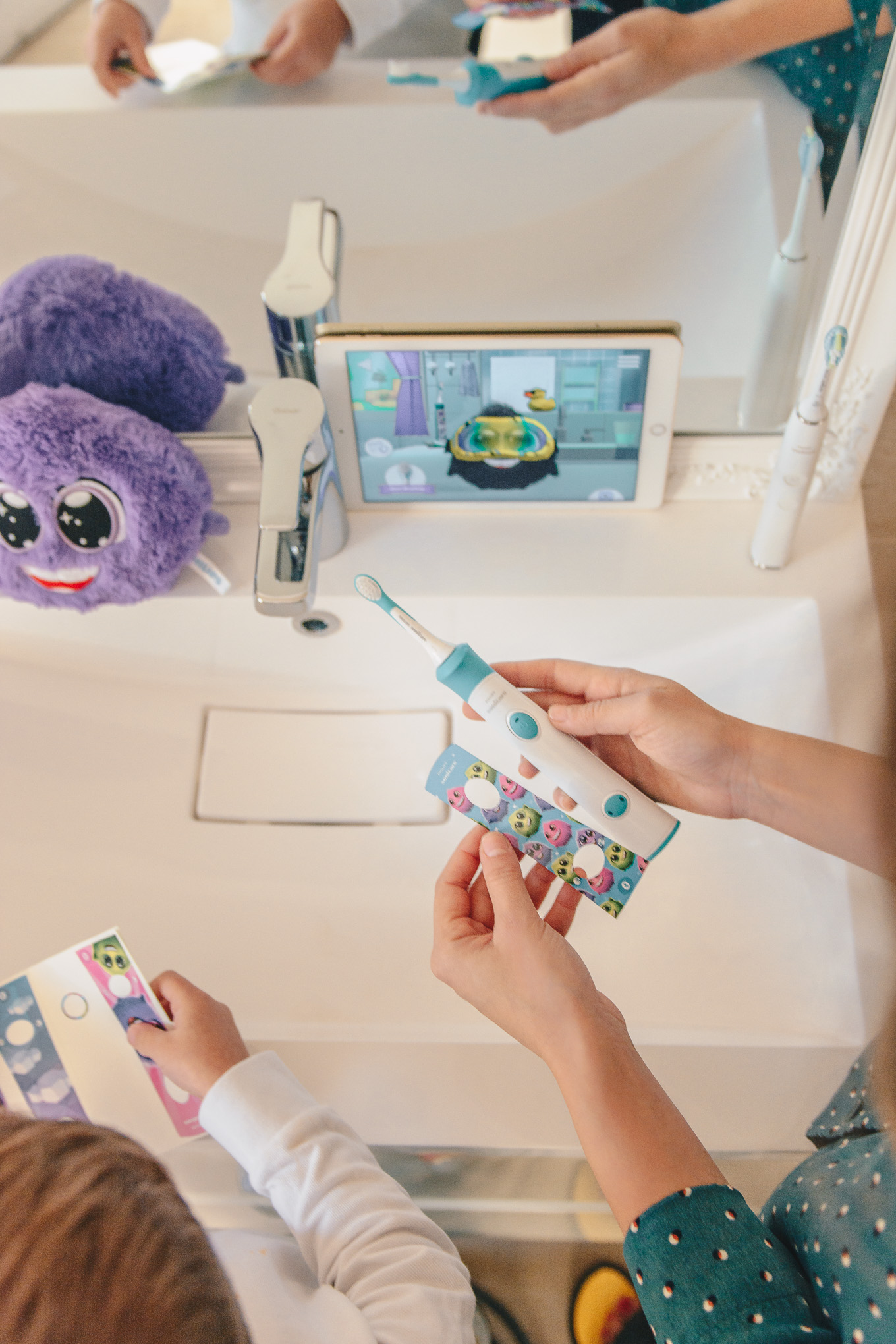 Sonicare kids toothbrush