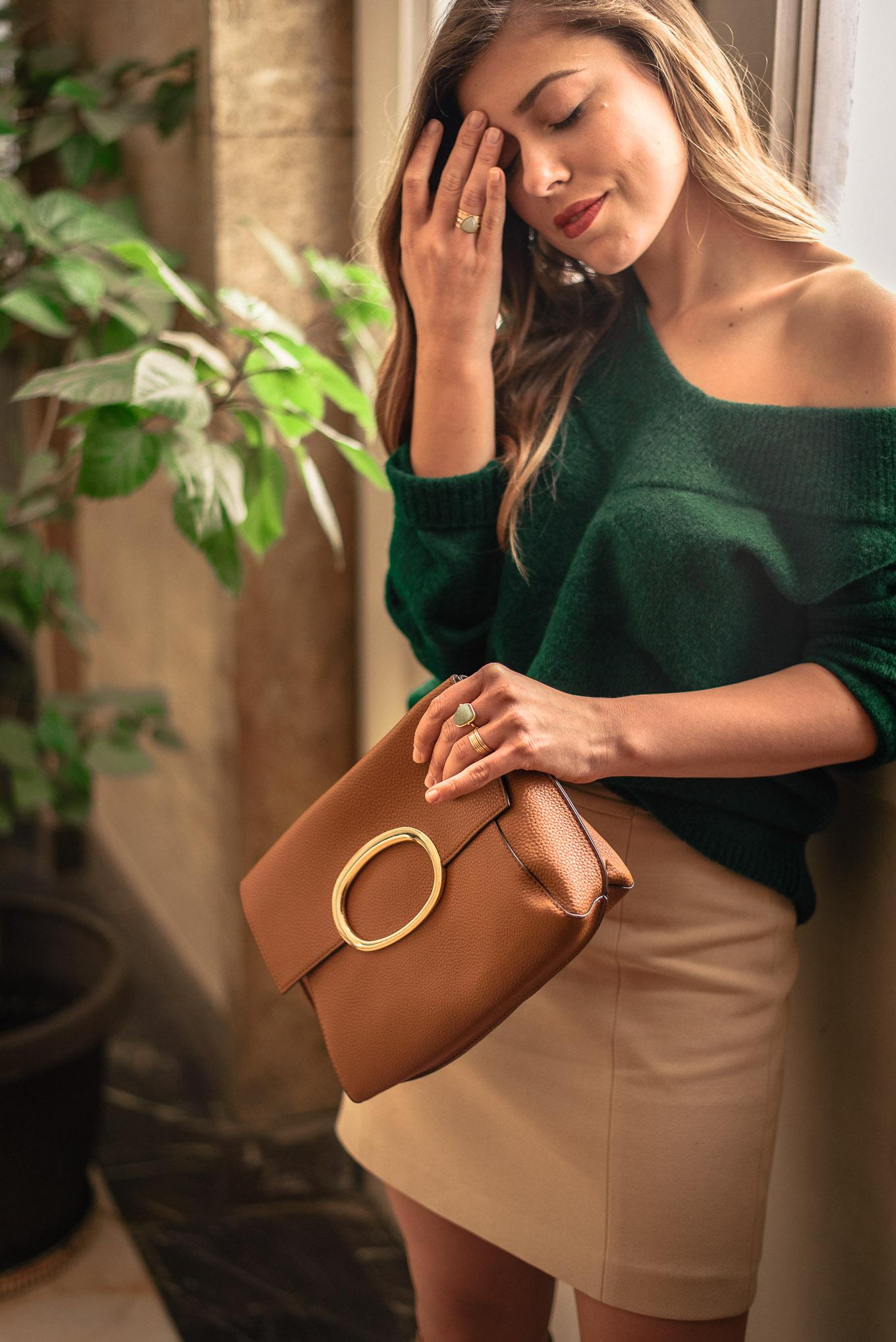 parfois handbag blogger style