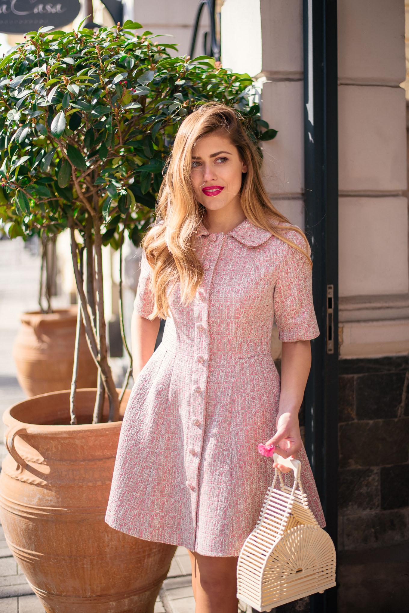 Denina Martin wearing gmg dress