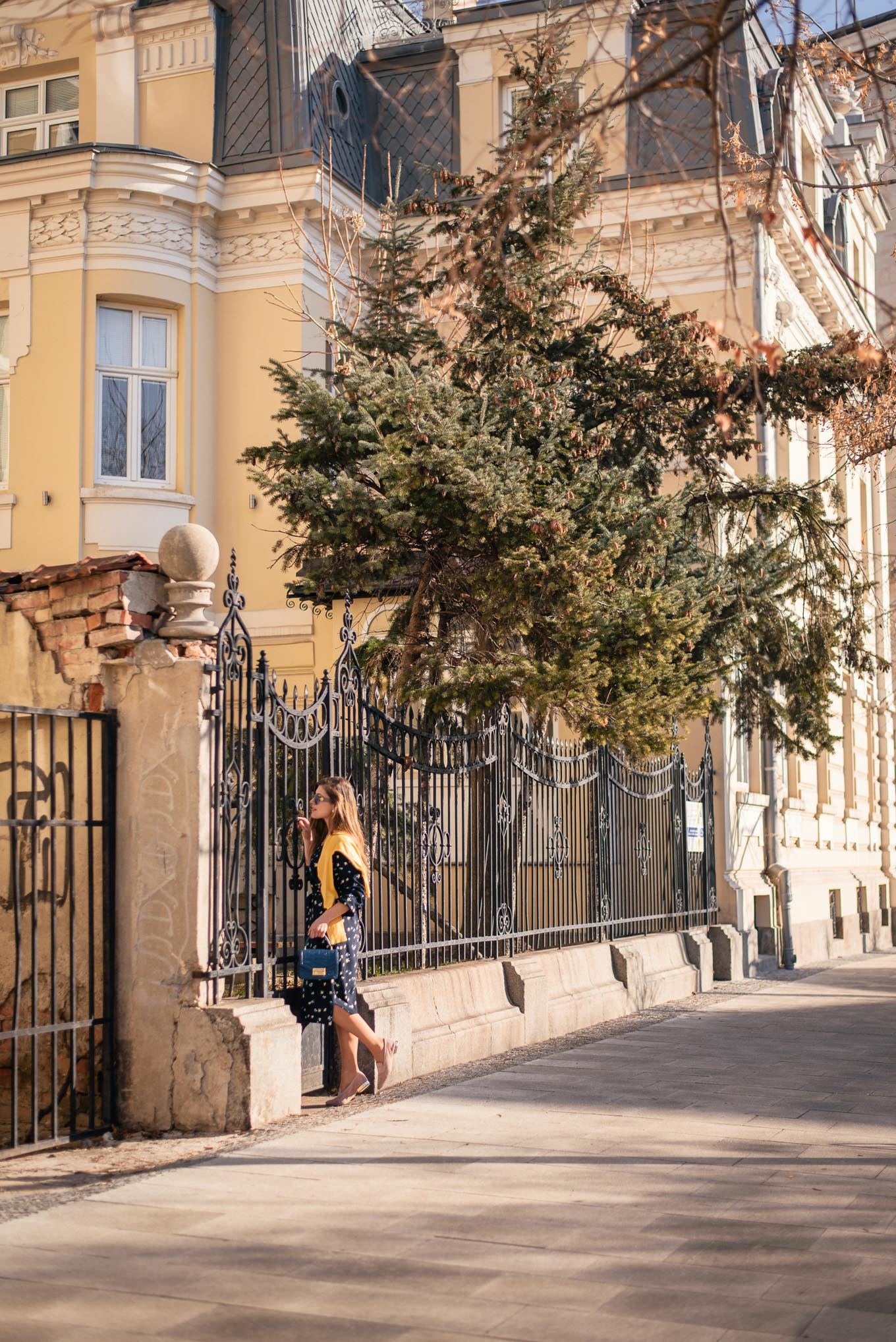Sofia Streets Spring Blogger Photos