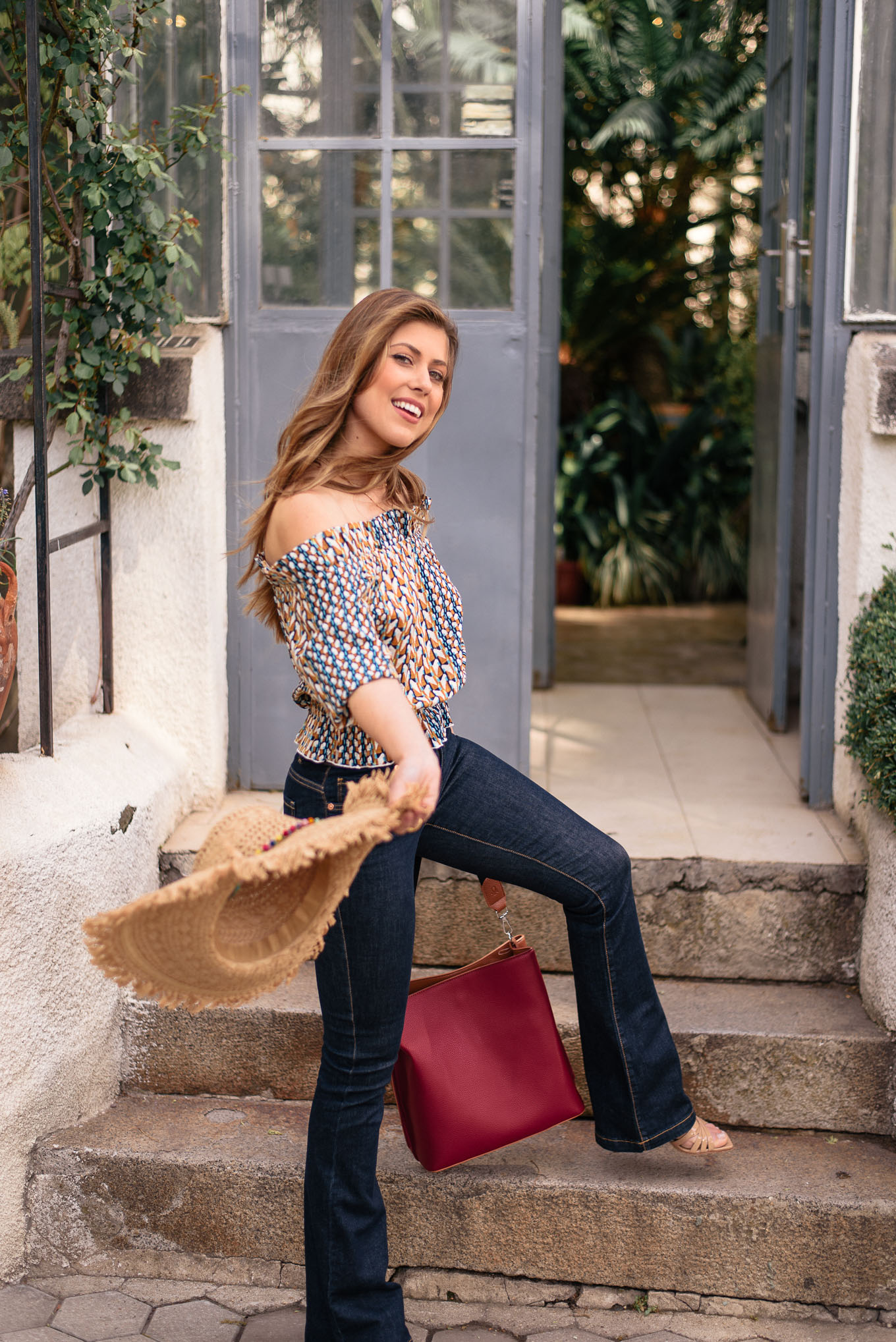 European style blogger