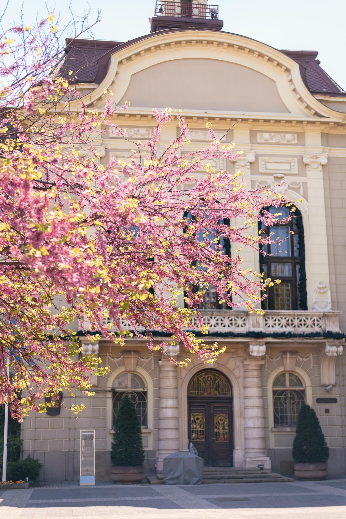Plovdiv in spring 2019