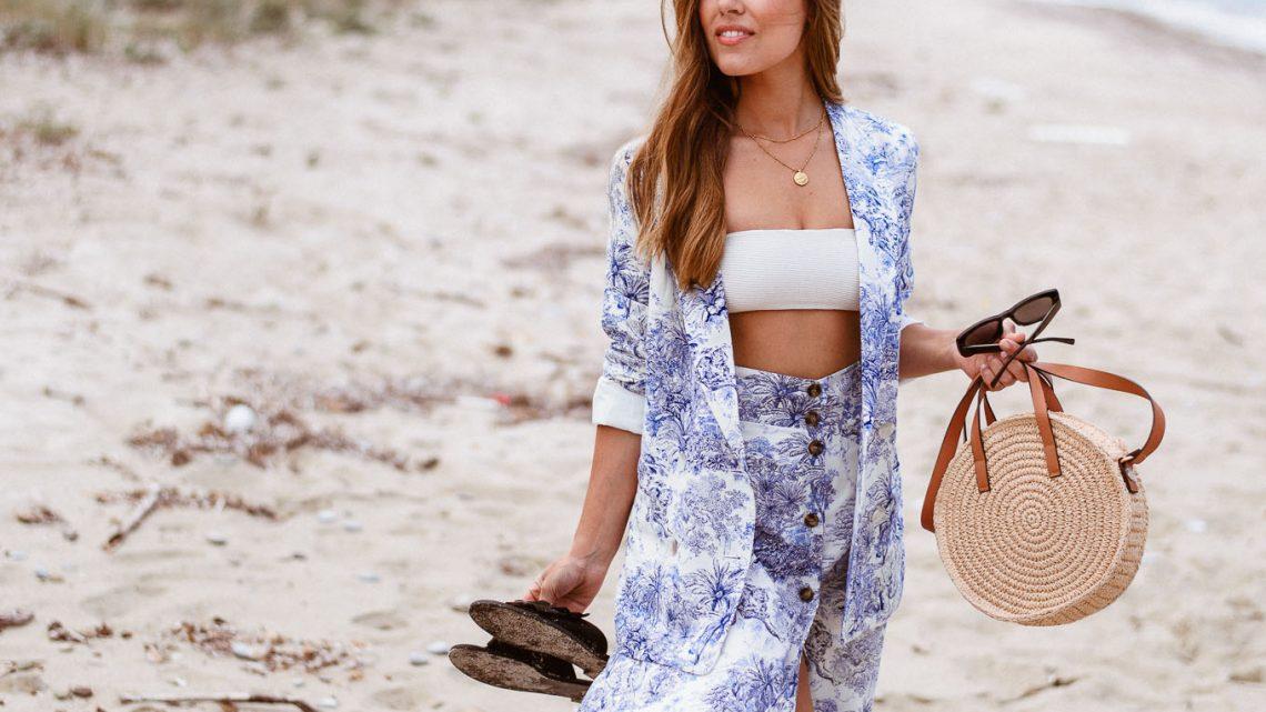 H&M beach bikini set - A BETTER ALTERNATIVE TO WHITE AND BLUE STRIPES