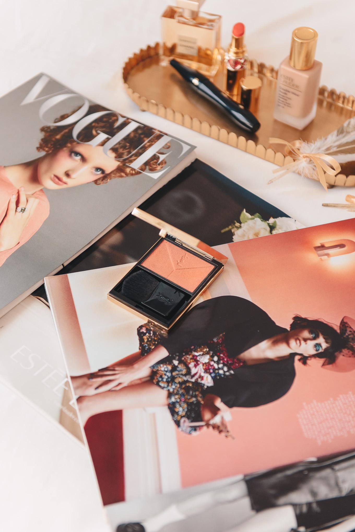 YSL couture blush