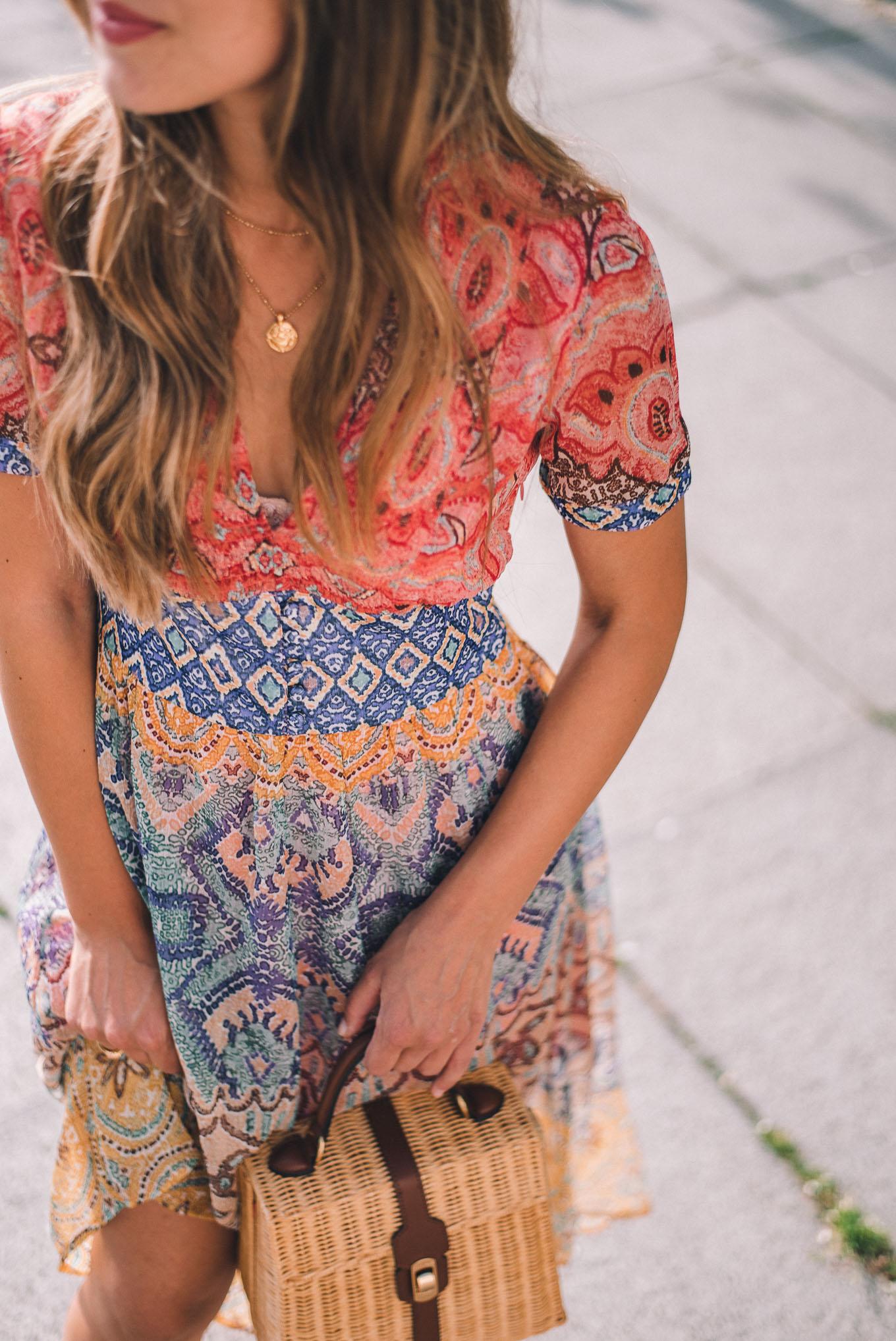 Desigual floral prints dress